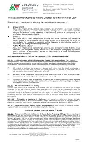 colorado august   anti discrimination poster english spanish small