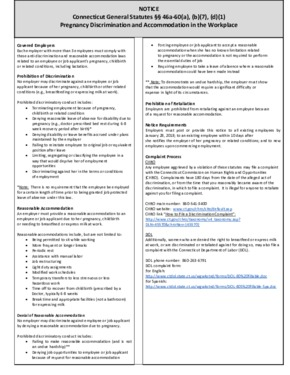 connecticut ssa pregnancy disability poster small