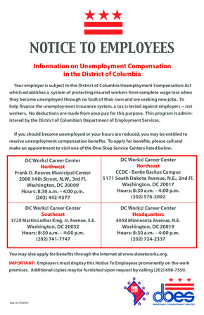 district of columbia ui eeo poster  small