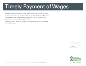 louisiana timely payment of wages ltr color small
