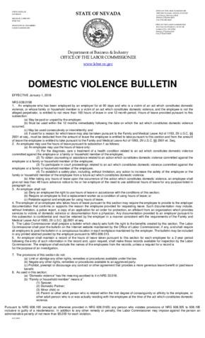 nevada domestic violence victims  small