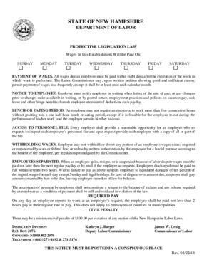 new hampshire protective legislation poster small