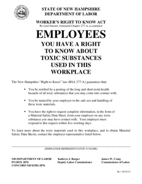 new hampshire right to know poster small