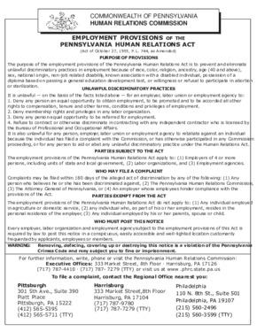 pennsylvania fair employment small