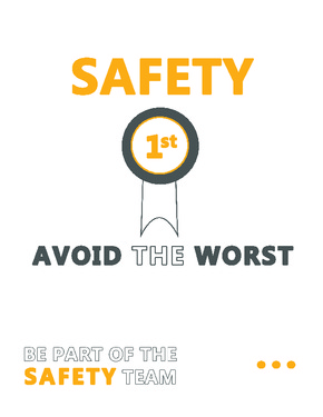 south dakota safety first poster small